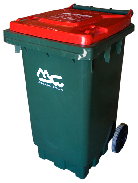 Red Bin for General Waste