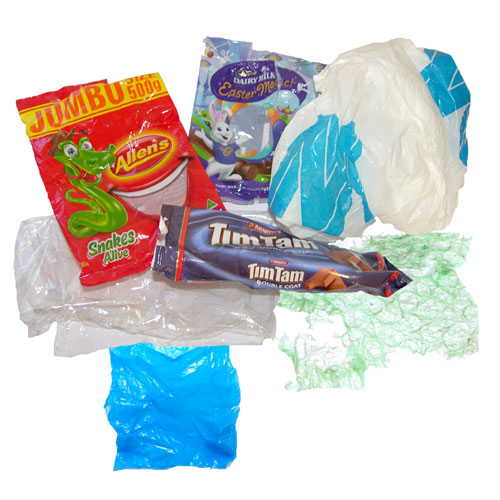 Plastic Bags, Packets, Cling Wrap, Bubble Wrap